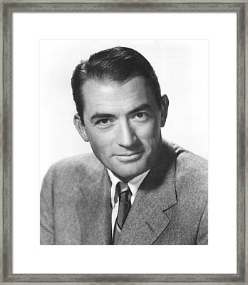 The Man In The Gray Flannel Suit Framed Print