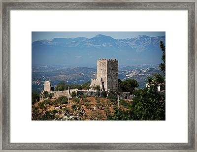 The Medieval Tower Framed Print