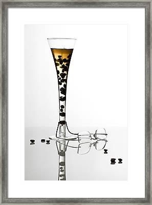 The Morning Drink Framed Print by Ovidiu Bastea