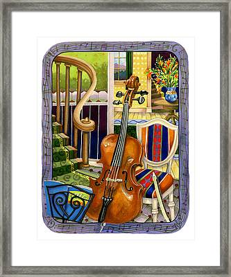 The Music Lesson Framed Print by Anne Gifford