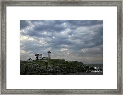 The Nubble Framed Print by Timothy Johnson