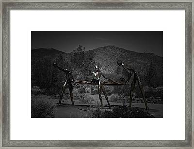 Framed Print featuring the photograph The Nurses by Betty Depee