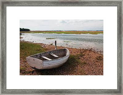 The Old Boat Framed Print by Shirley Mitchell