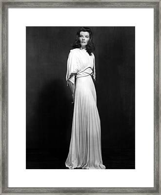 The Philadelphia Story, Katharine Framed Print by Everett
