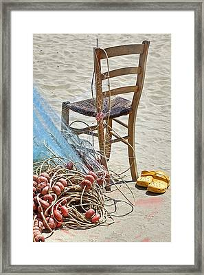 The Place Of The Fisherman Framed Print by Joana Kruse