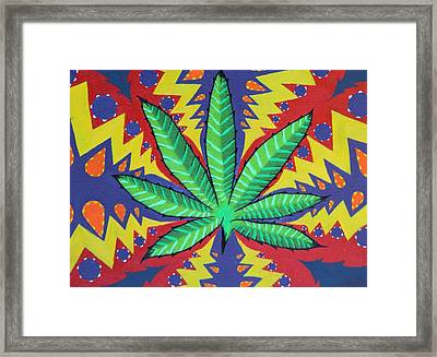 The Pot Framed Print by Landon Clary
