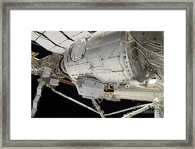The Pressurized Mating Adapter 3 Framed Print by Stocktrek Images