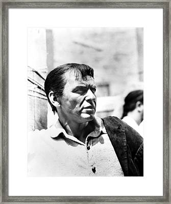 The Pride And The Passion, Frank Framed Print by Everett
