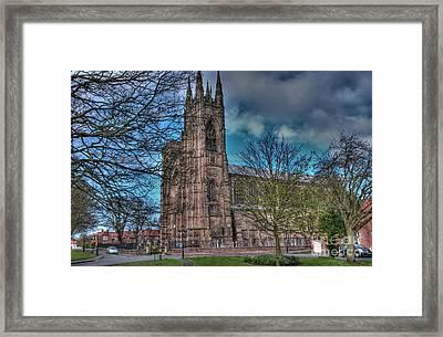 The Priory Church Of St Mary's Bridlington Framed Print
