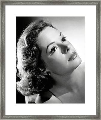 The Prisoner Of Zenda, Jane Greer, 1952 Framed Print