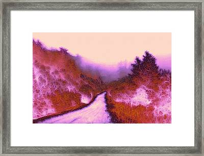 The Red Weed  Framed Print by Steve K