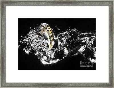 The Ring Framed Print by Herry Sugianto