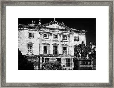 The Royal Bank Of Scotland Edinburgh Scotland Uk United Kingdom Framed Print by Joe Fox