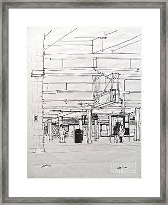 The S Shuttle Framed Print