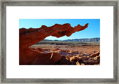 The Serpent Framed Print by Bob Christopher