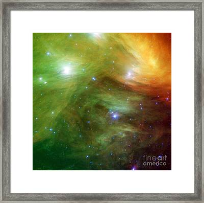 The Seven Sisters, Also Known Framed Print
