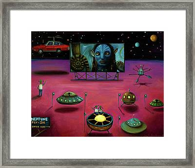 The Sighting At The Neptune Fly In Framed Print by Leah Saulnier The Painting Maniac