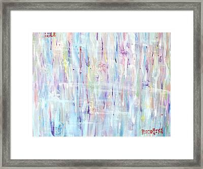 The Sounds Of Rain Framed Print by Shana Rowe Jackson