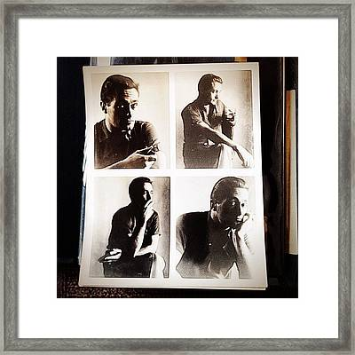 The Sterling Jensen Series Framed Print