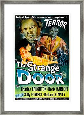 The Strange Door, Charles Laughton Framed Print by Everett