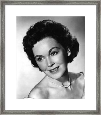 The Tall T, Maureen Osullivan, 1957 Framed Print