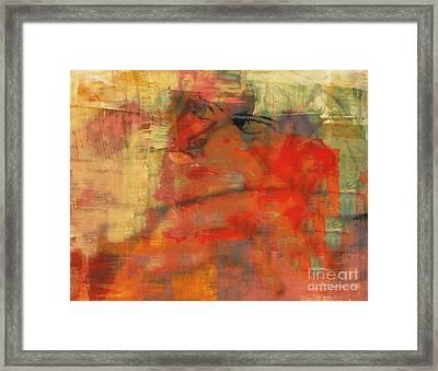 The Thinker Framed Print by Fania Simon