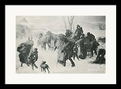 Charles T. Webber Photographs Framed Prints