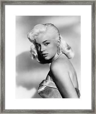 The Unholy Wife, Diana Dors, 1957 Framed Print