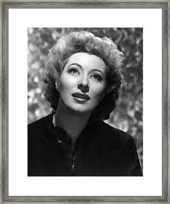 The Valley Of Decision, Greer Garson Framed Print by Everett