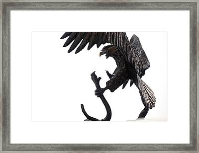 The Victor Framed Print by Elzubair Elzein