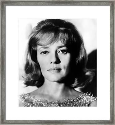 The Victors, Jeanne Moreau, 1963 Framed Print