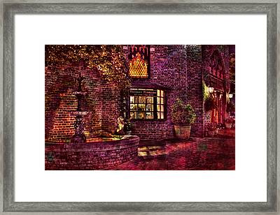 The Village Of Light Framed Print by Marc Parker