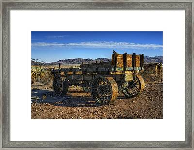 The Wagon Framed Print by Stephen Campbell