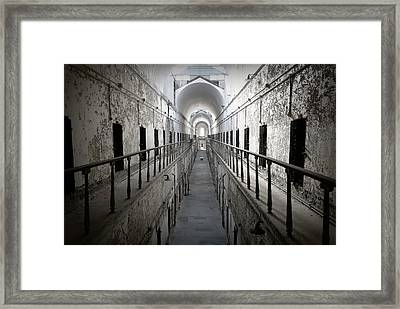 The Walk Framed Print by Richard Reeve