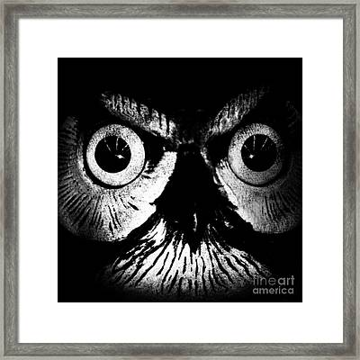The Watcher Framed Print by Jayme X