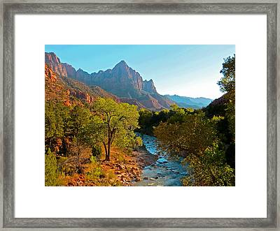 The Watchman II Framed Print