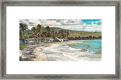 The Water Front   Framed Print