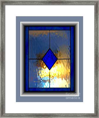 The Window Framed Print by Dale   Ford