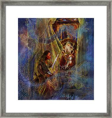 The Wizard's Tower Framed Print by Steve Roberts