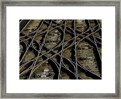 Framed Print featuring the photograph The Yard by Michael Nowotny