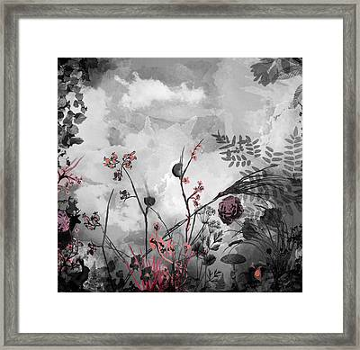 There Is A Storm Coming Framed Print by Carly Ralph