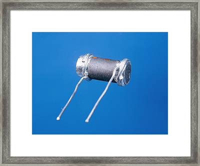 Thermistor Framed Print by Andrew Lambert Photography
