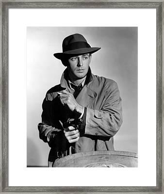 This Gun For Hire, Alan Ladd, 1942 Framed Print