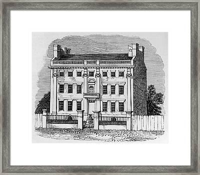 Thomas Hutchinson Framed Print by Granger