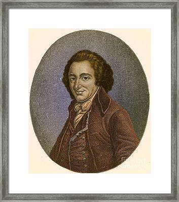 Thomas Paine, American Patriot Framed Print by Photo Researchers