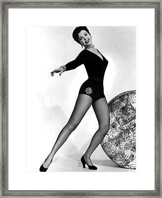 Thrill Of Brazil, Ann Miller, 1946 Framed Print