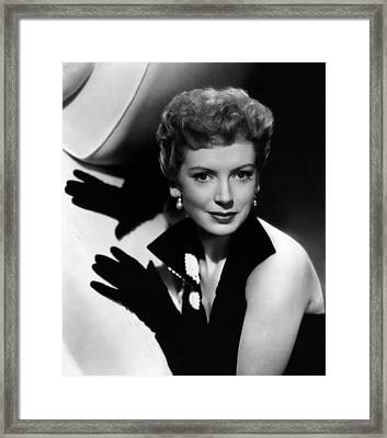 Thunder In The East, Deborah Kerr, 1952 Framed Print by Everett
