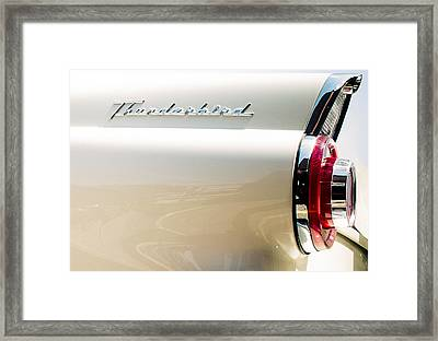 Thunderbird Framed Print by Elizabeth Wilson