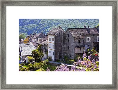 Ticino Framed Print