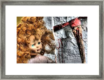 Till Death Do Us Part Framed Print by JC Findley